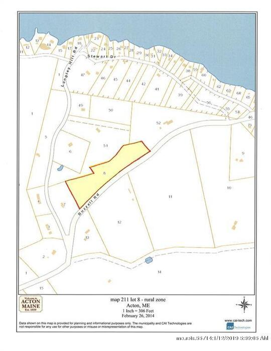 Lot 8 Buzzell Road Acton Me 04001 Is For Sale Town And Shore