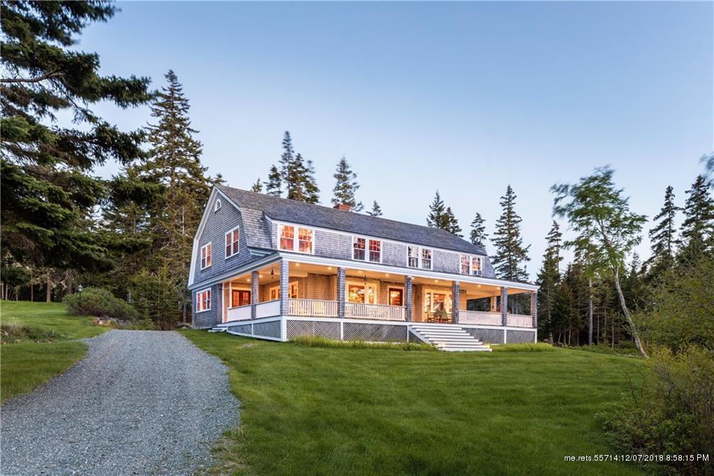 43 Sawyers Point Lane, Brooksville, Maine 04642